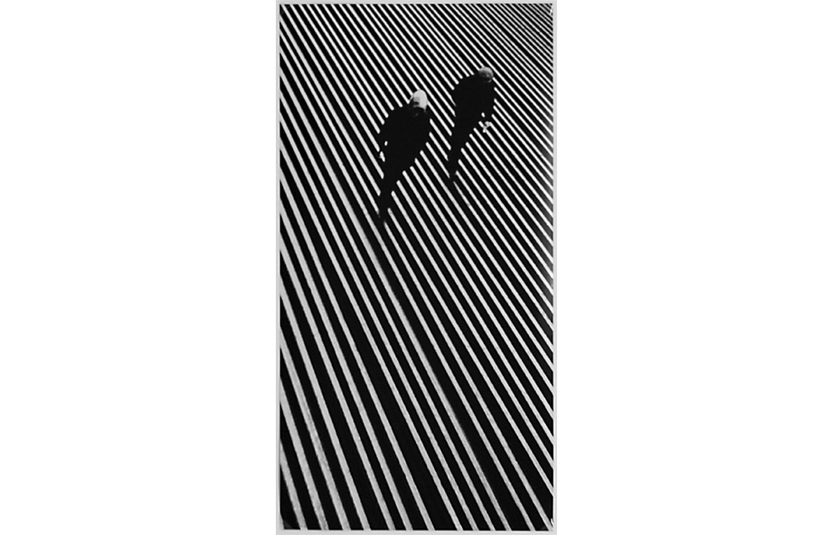 Alexander Abaza, Rails of Azovstal,1972, Silbergelatineprint, 31 x 60 cm