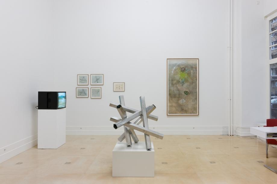 Constantin Flondor, Filme, Skizzen für Pentagramm Pentagramm, Projekt für Garten, Luft und Erde © Marcus Schneider