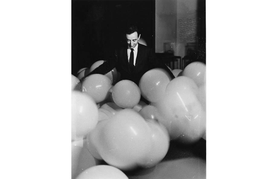 Lucio Amelio, Galerist, 1967, Modern Art Agency, Naples