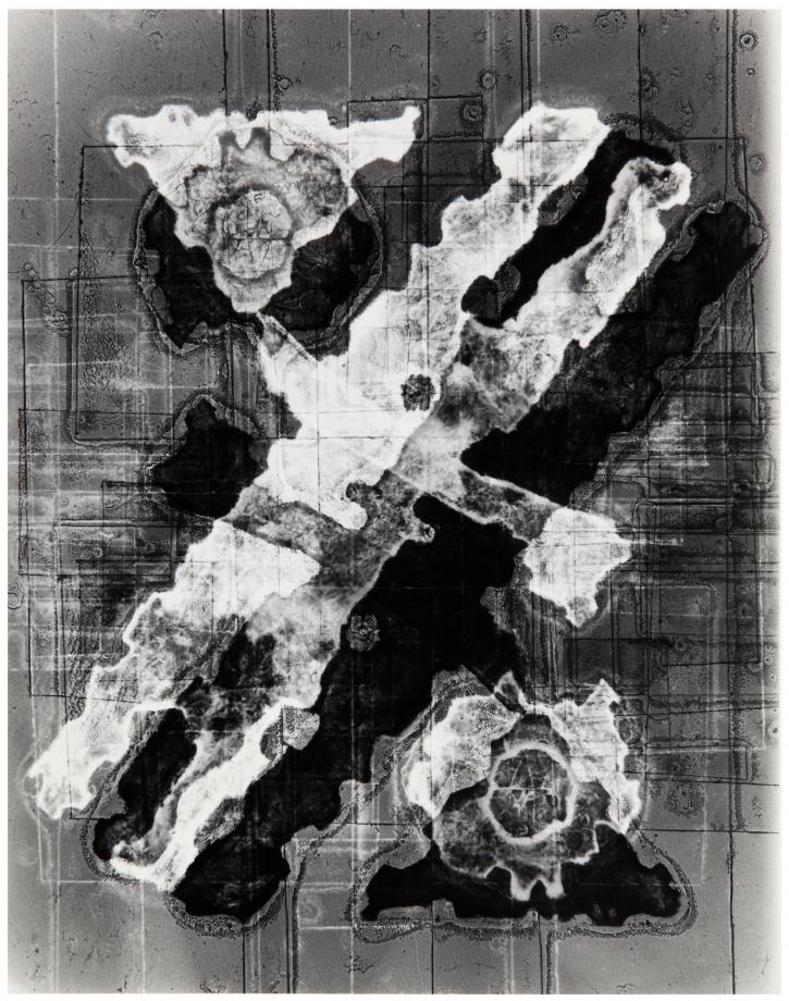 Heinz Hajek-Halke, Ohne Title [Untitled], 1956, Silbergelatinprint, 38.2 x 29.3 cm